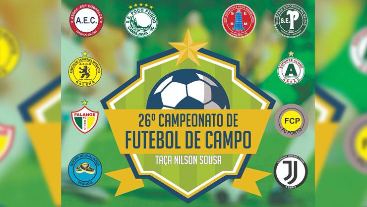 Foto  CME  Divulgação. A quarta rodada do 26º Campeonato Municipal de  Futebol ... 5ab9d1cae2ee3