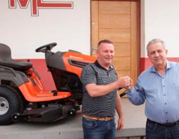 FME adquire cortador para manutenção de campos de futebol 837117500e09d