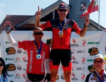 Atleta de Tijucas é destaque no ciclismo catarinense 6b0745c9bc090